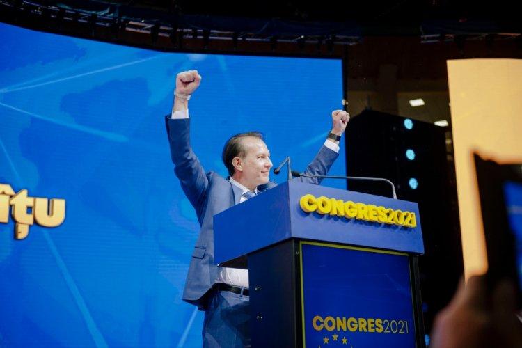 Florin Cîțu a câștigat șefia PNL: Promit că voi fi președintele tuturor liberalilor, indiferent pentru cine au votat