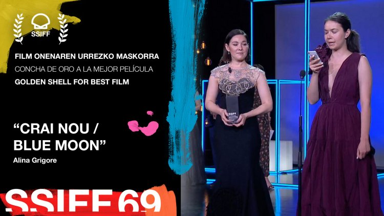 Blue Moon a câştigat trofeul Concha de Oro la Festivalul Internaţional de Film de la San Sebastian