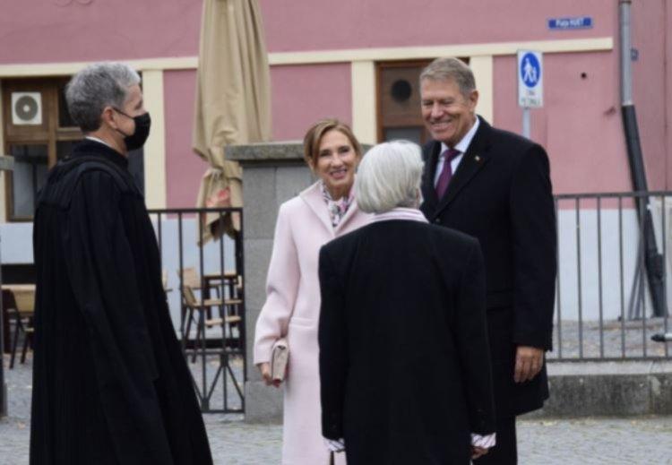 Iohannis: Renovarea Bisericii Evanghelice - o lucrare impresionantă, iar comunitatea săsească este activă, vie